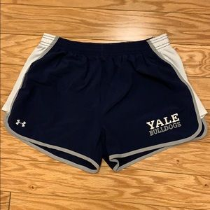 Yale Bulldogs Under Armour Running Shorts